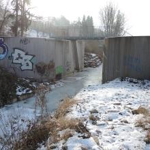 Hochwasserrückhaltebecken Klosterhof